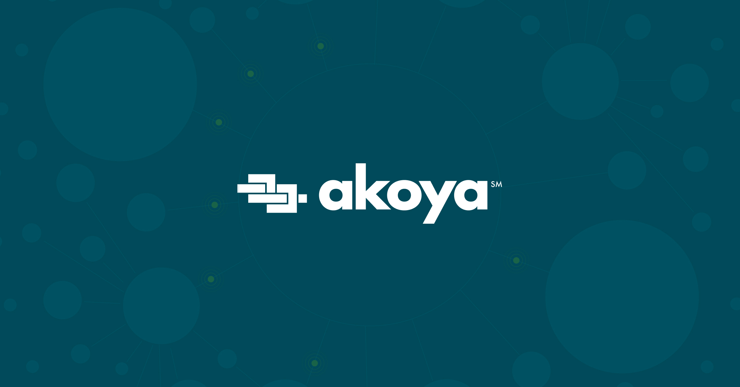 US Bank connects to Akoya's API-based consumer-permissioned financial Data Access Network [Akoya owned by @Fidelity @TCHTweets and 11 banks]...